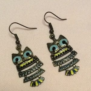 Jewelry - FREE WITH PURCHASE Owl Earrings